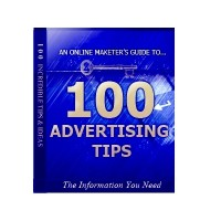 100 Advertising Tips Unrestricted PLR Ebook