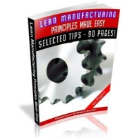 Lean Manufacturing Principles Made Easy MRR Ebook