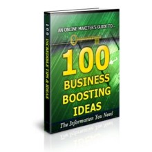 100 Business Boosting Ideas Unrestricted PLR Ebook