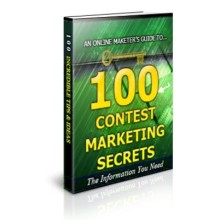 100 Contest Marketing Secrets Unrestricted PLR Ebook