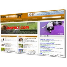 Dog Training Niche Wordpress Blogs (Adsense/Amazon/Clickbank) + Review Sites