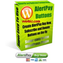 AlertPay Button Generator WP Plugin (MRR)