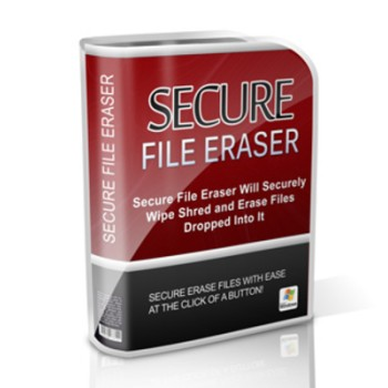 Secure File Eraser MRR Software / Giveaway Rights