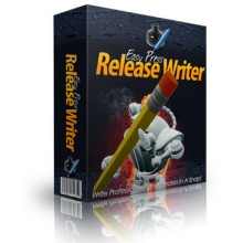 Easy Press Release Writer Software with Master Resale Rights