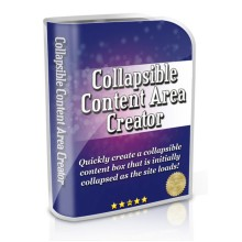 Collapsible Content Area Creator MRR/ Giveaway Rights
