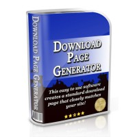 Download Page Generator Comes with Resale Rights!