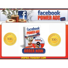 *HOT!* Facebook Power Ads 3.0 - Exploiting FaceBook For Fast, Quality Traffic!