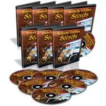 Website Creation Secrets – Audio and Video Training (PLR)